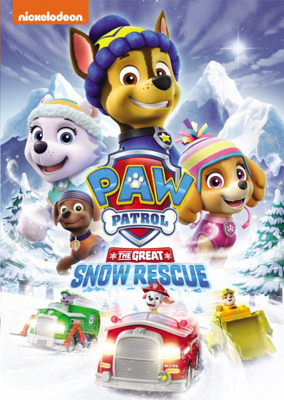 Paw patrol the great snow rescue mommy katie in this dvd we get a lot of fun filled episodes featuring those adorable pups who are ready to save the day as they go on epic rescue missions to help fandeluxe Gallery