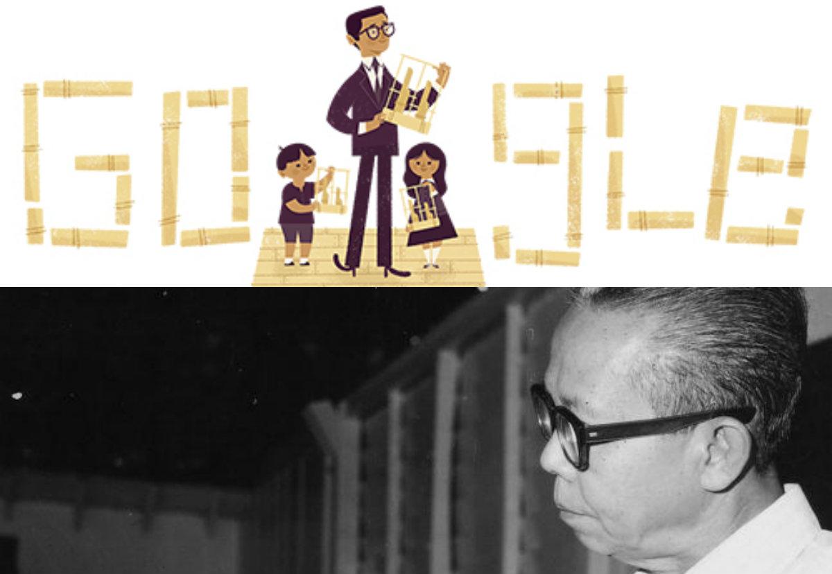 Daeng Soetigna di logo Google hari ini