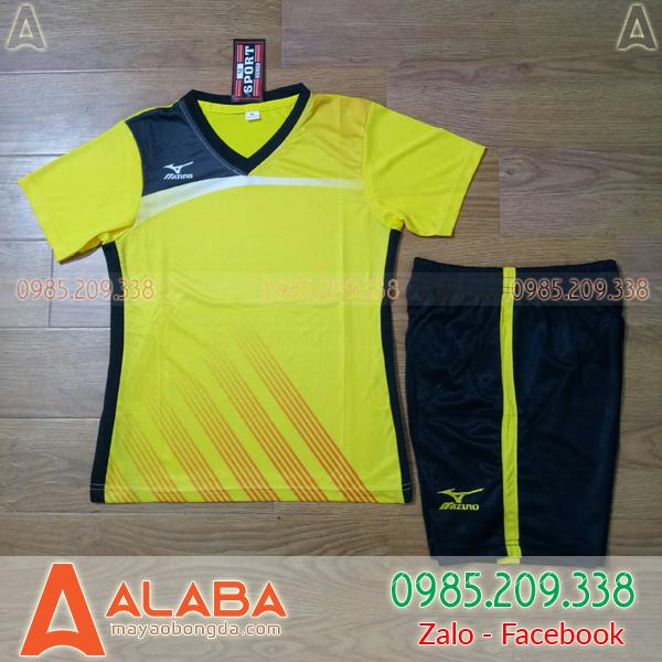 Áo Bóng Chuyền MIZUNO ALB - NU03 Màu Vàng