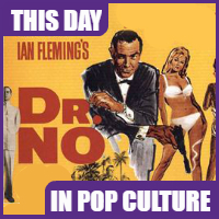"""""""Dr. No"""" premiered in theaters on October 5, 1962."""