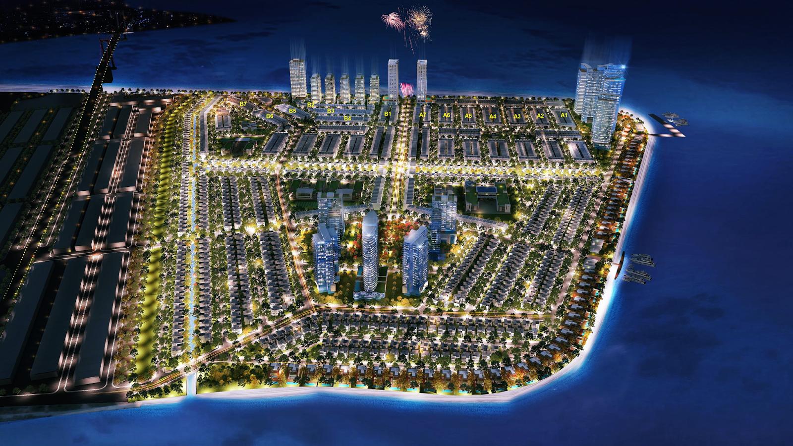 Khu đô thị mới Vịnh Thuận Phước - Kim Long Ocean