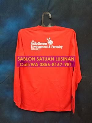 Sablon Kaos Satuan Jakarta Timur