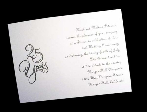 25th Wedding Anniversary Poems