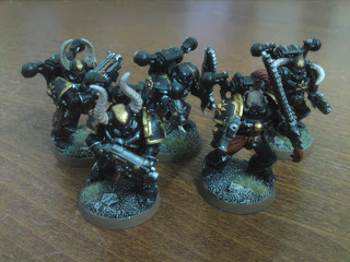 November 2011: Black Legion CSM squad
