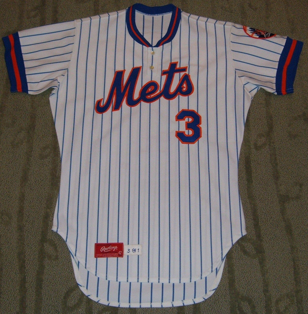 competitive price 7953d 8b125 TheMediagoon.com: Game Used 1981 Mike Cubbage Mets Jersey