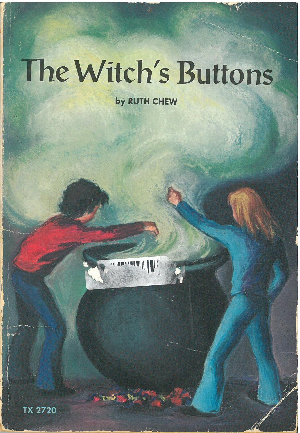 Somehow, My Well Loved Scholastic Book Services Childhood Copy Of The  Witch's Buttons Has Been Lost, And I Was Forced To Buy Another One