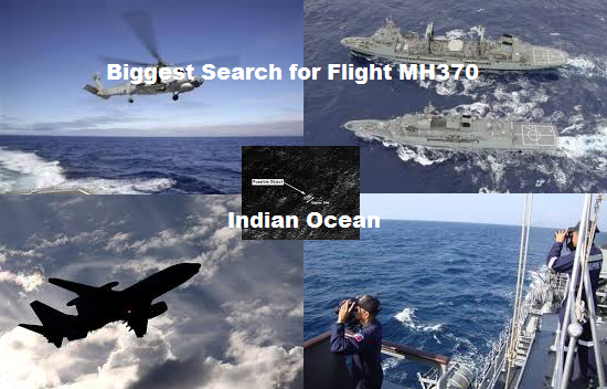 Biggest Search for Flight MH370 yet in Indian Ocean