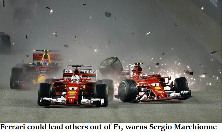Ferrari could lead others out of F1, warns Sergio Marchionne