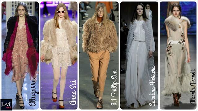 FW2016 Trends: Fur and faux fur  L-vi.com