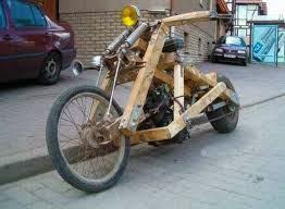 Gambiarras na moto