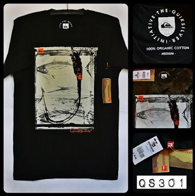 Kaos Distro Surfing Skate QUIKSILVER Premium Kode: QS301