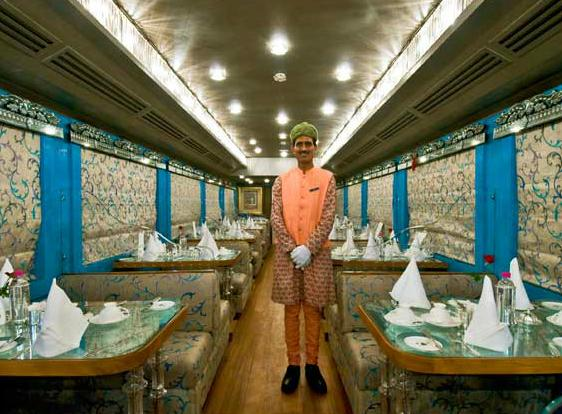 Restaurant, Royal Rajasthan on wheels train