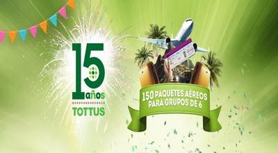[Sorteo] 15 Años Juntos - Hipermercados Tottus