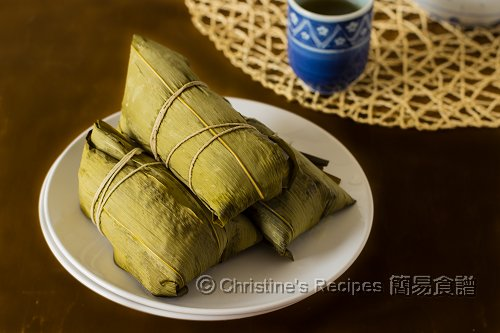 鹹肉粽 Cantonese Rice Dumplings03