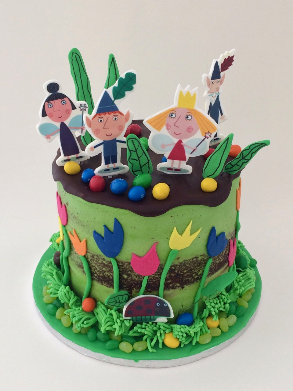 Rozannes Cakes Ben And Holly Crazy Cake