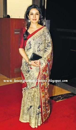 Bollywood fashion saree