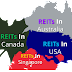 Top 20 best yielding reits from Australia, Singapore, Canada and US. And the winner is...