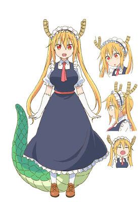 Kobayashi-san chi no maid dragon characters tohru