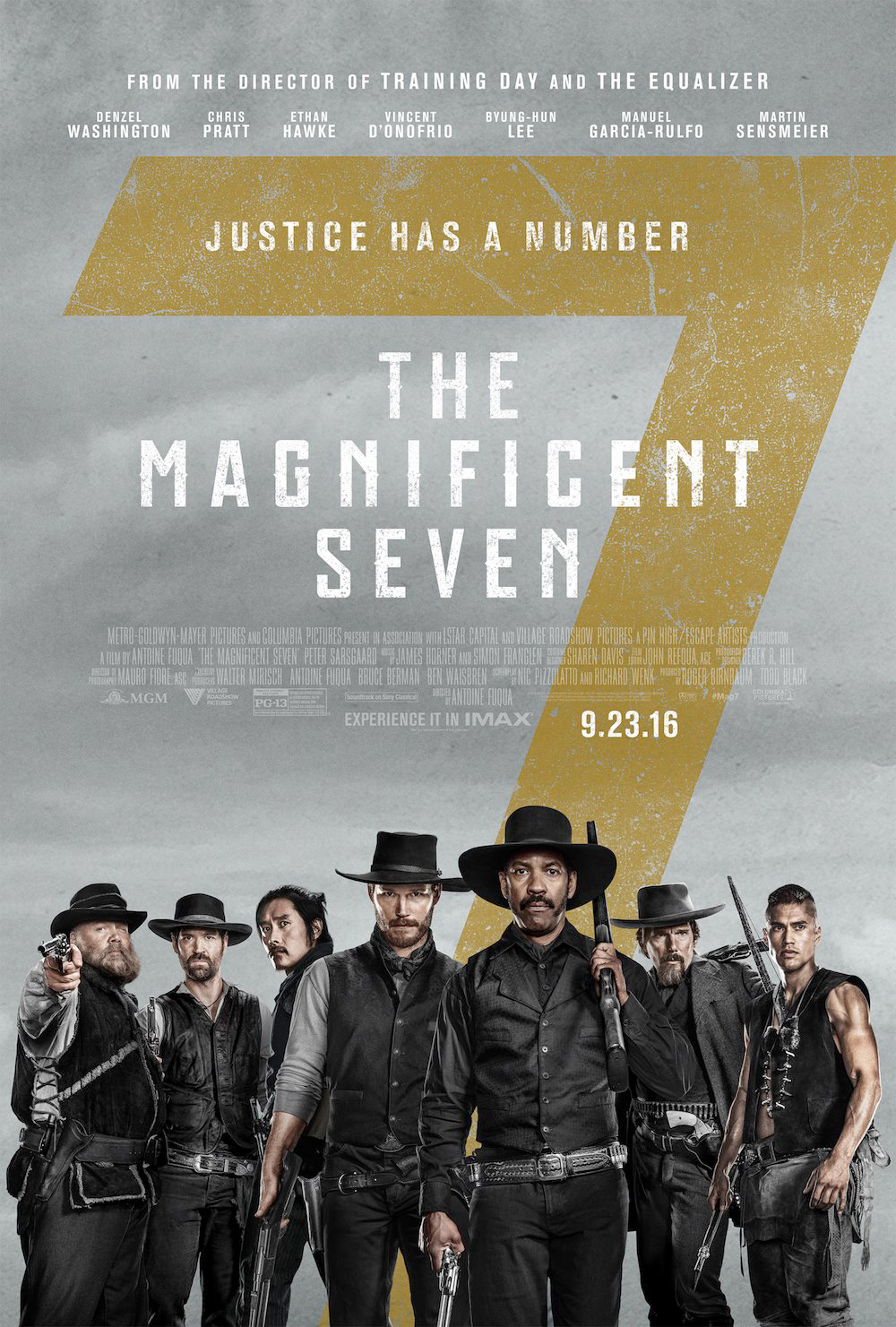 Movie The Magnificent Seven (2016) Free