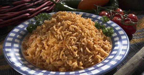 الأرز المكسيكي من منال العالم