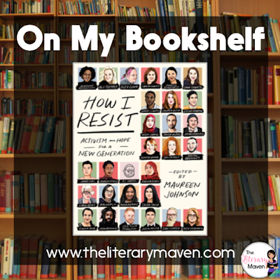 How I Resist is a collection that challenges the idea of resistance. Protests, marches, and sit-ins are all very visible forms of protest and resistance, but this collection reminds the reader that a song, a podcast, a poem, our day to day choices can all be forms of resistance too. The collection brings attention to all sorts of interesting individuals and projects and the variety of voices and types of pieces in the collection makes it appealing to people of ages (teens are the target audience) and backgrounds. Read on for more of my review and ideas for classroom application.