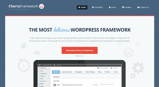 Blogging Tips: Best Free WordPress Themes Framework 2014