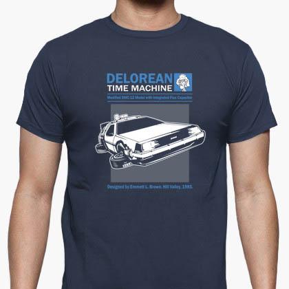 Camiseta Delorean Time Machine
