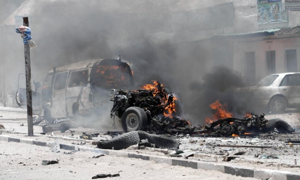 Somalia's Truck Bomb Explosion Killed 20 People and Destroyed Properties