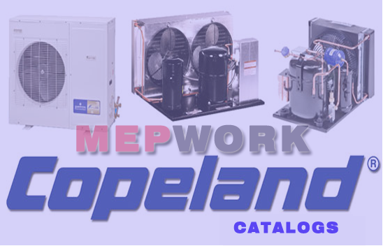 Download All products of Copeland and Emerson Corporations HVAC, Refrigeration, Air Conditioning, Emerson, Copeland, Products, download, Catalogue,