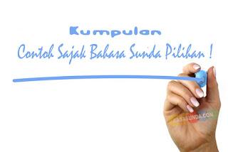 Update Kumpulan Contoh Sajak Bahasa Sunda Pilihan!