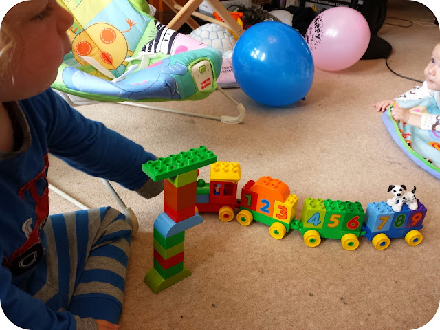 Lego Duplo, duplo giveaway, lego duplo number train