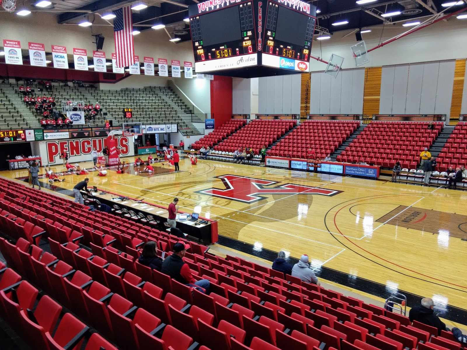 Scolin S Sports Venues Visited 301 Youngstown State University Beeghly Center Youngstown Oh