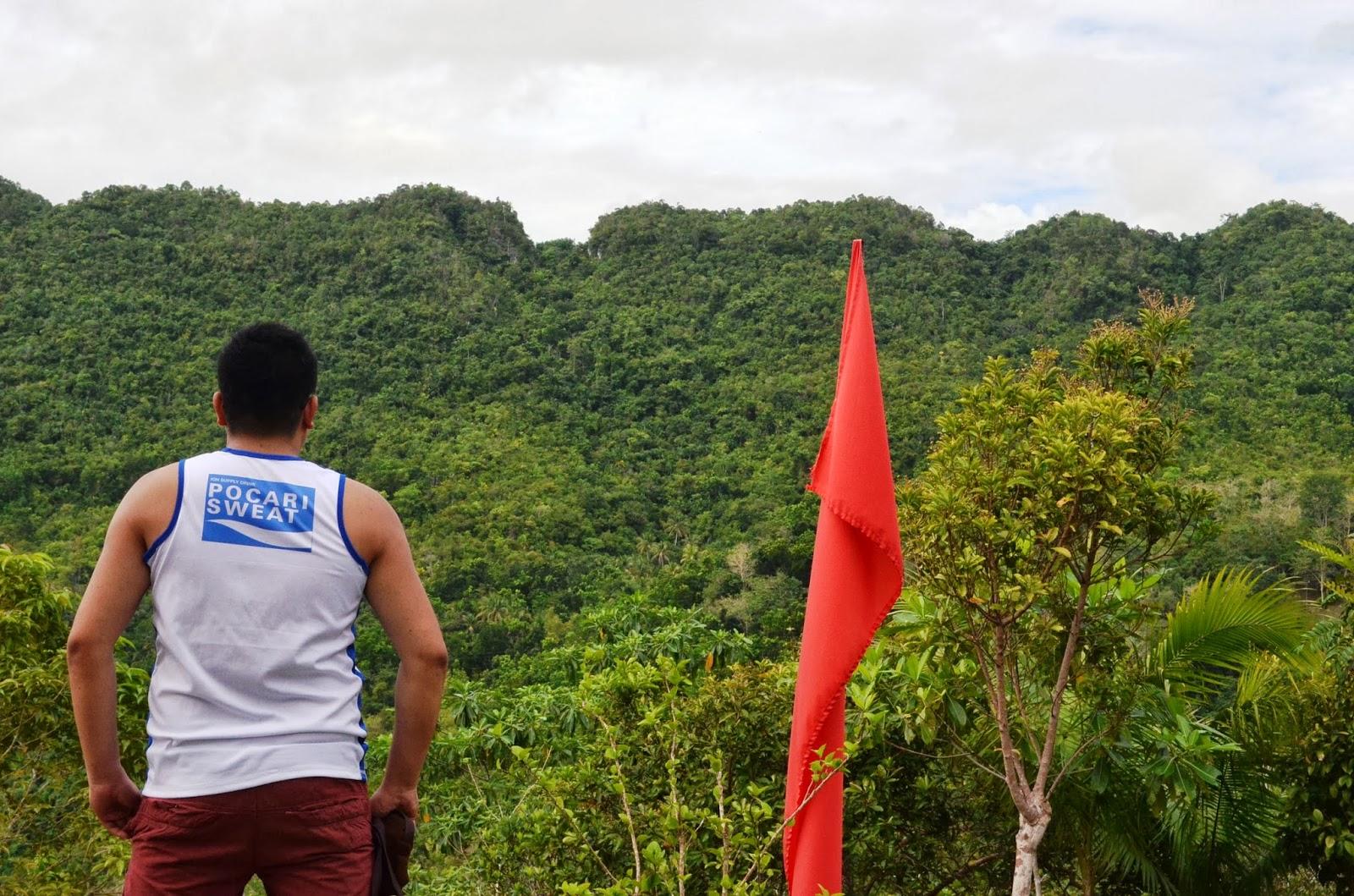Bohol zipline loboc eco adventure park the backpack man for Jardin necitas