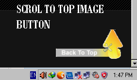 Back to Top Image Button