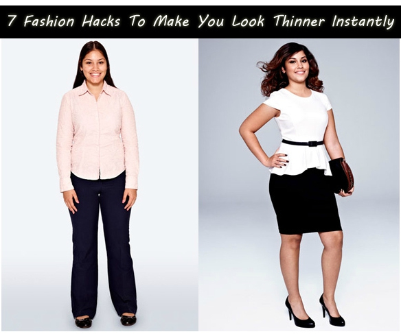 Fashion Hacks To Make You Look Thinner Instantly