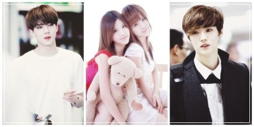 Snsd taeyeon wciąż spotyka się z exo baekhyun