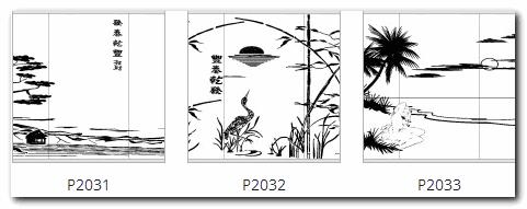 Двери-купе с рисунком природа