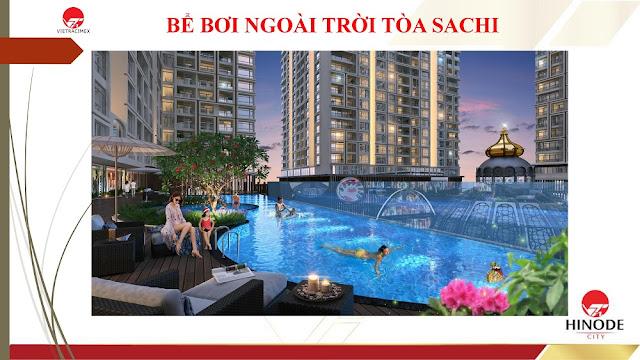 Bể bơi tòa Sachi