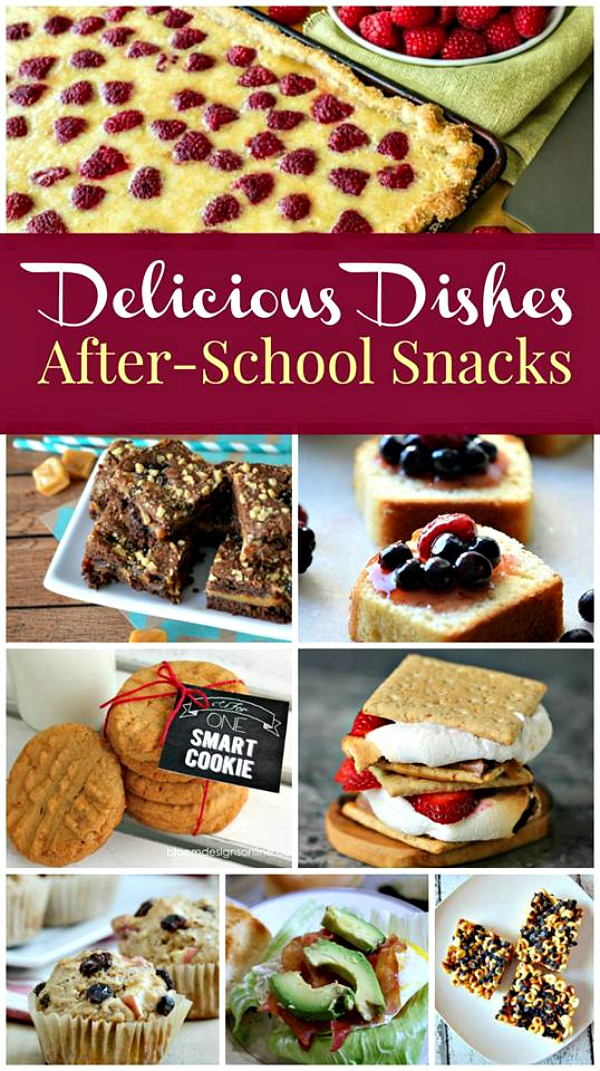After school snacks are featured this week with our Delicious Dishes Recipe Party #33 from Walking on Sunshine Recipes.