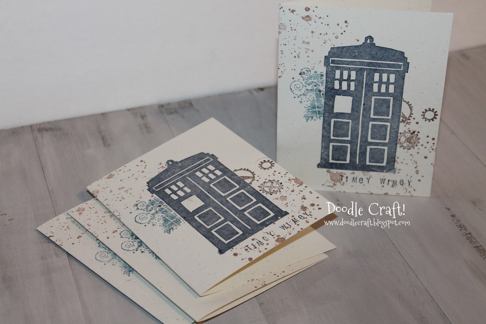 Custom Rubber Stamps My Tardis