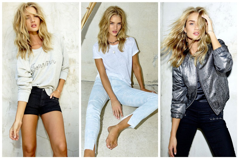 Rosie Huntington Whiteley collaborates with Paige Denim on an exclusive collection