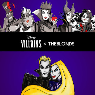 Disney Villains X THE BLONDS Fashion Collaboration