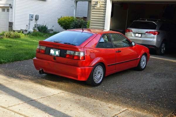 Red Corrado For Sale Vr
