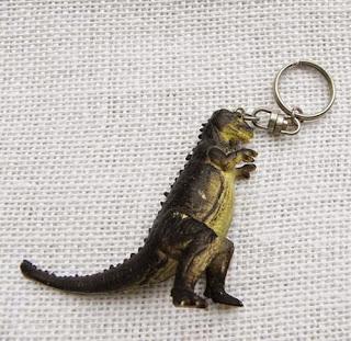 large dinosaur keyring