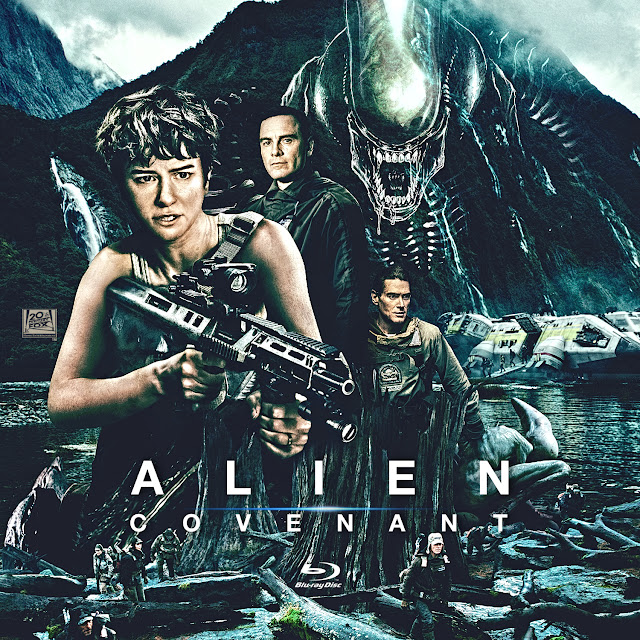 Alien Covenant Bluray Label