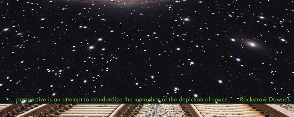 … perspective is an attempt to standardize the metaphor of the depiction of space. — Rackstraw Downes