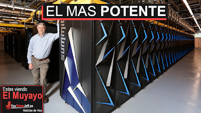 Summit supercomputer, es el nuevo ordenador mas potente de toda la tierra. Creado desde cero por los Estados Unidos y superando todo lo que existe hasta ahora.