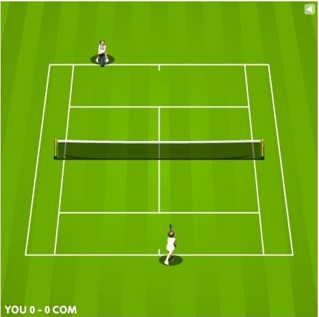 Tenis online jogo