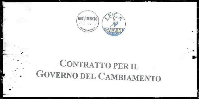 """7e3f6e7e167bc Del """"Contratto per il governo del cambiamento""""  sfera pubblica e uso ..."""