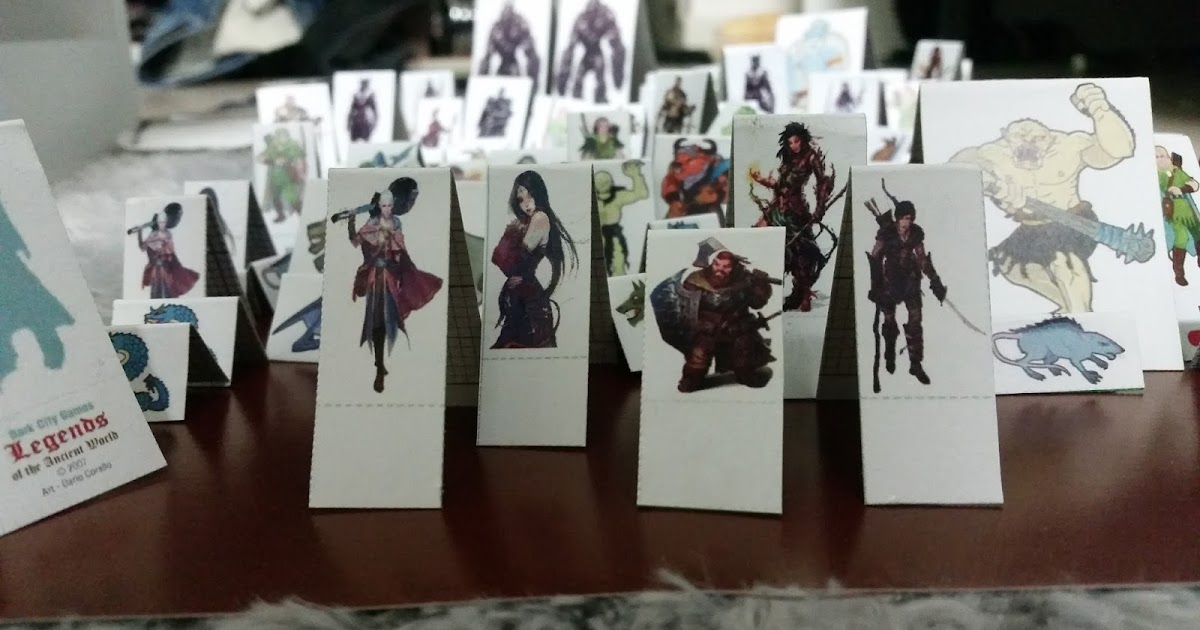 Ridiculous image pertaining to d&d printable minis